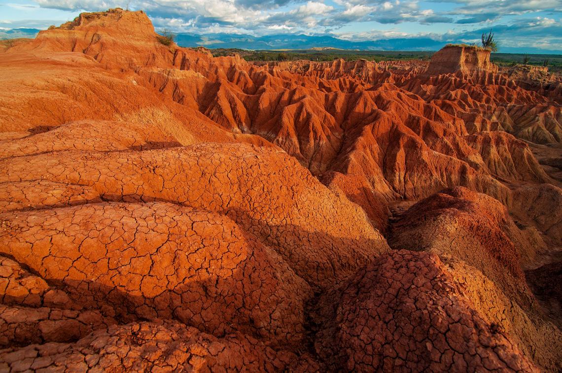 Rotsformaties en sterren kijken in de Tatacoa woestijn