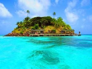 Островок в Карибском море - Колумбия