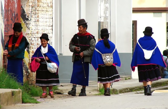 Индейцы Гуамбиано - Сильвия, деп. Каука