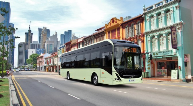 VOLVO BUSES STARTS TESTING THE 7900 ELECTRIC IN MEXICO CITY