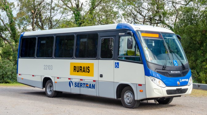 MERCEDES-BENZ DELIVERY 101 VEHICLES TO BRAZILIAN SERTRAN