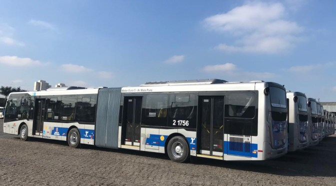 AIR-CONDITIONING SYSTEMS FROM EBERSPAECHER FOR ARTICULATED BUSSES IN São Paulo
