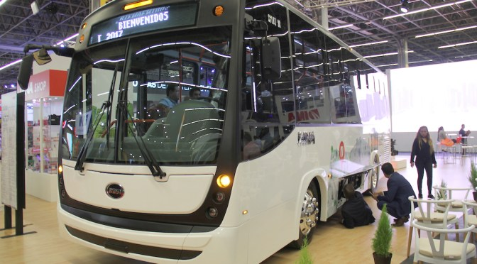 DINA PREPARES ITS ELECTRIC BUS BASED ON THE SILUX PLATFORM