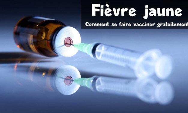 Fièvre jaune: ici le vaccin est gratuit pour tous