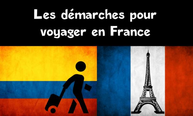 Comment aider un colombien à voyager en France