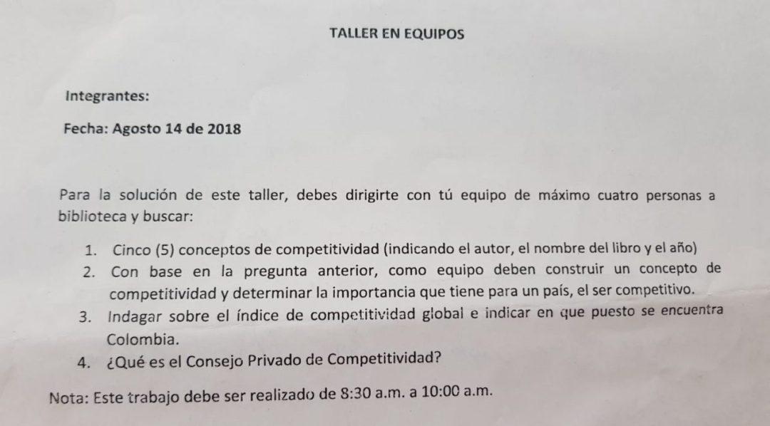 Exam colombien