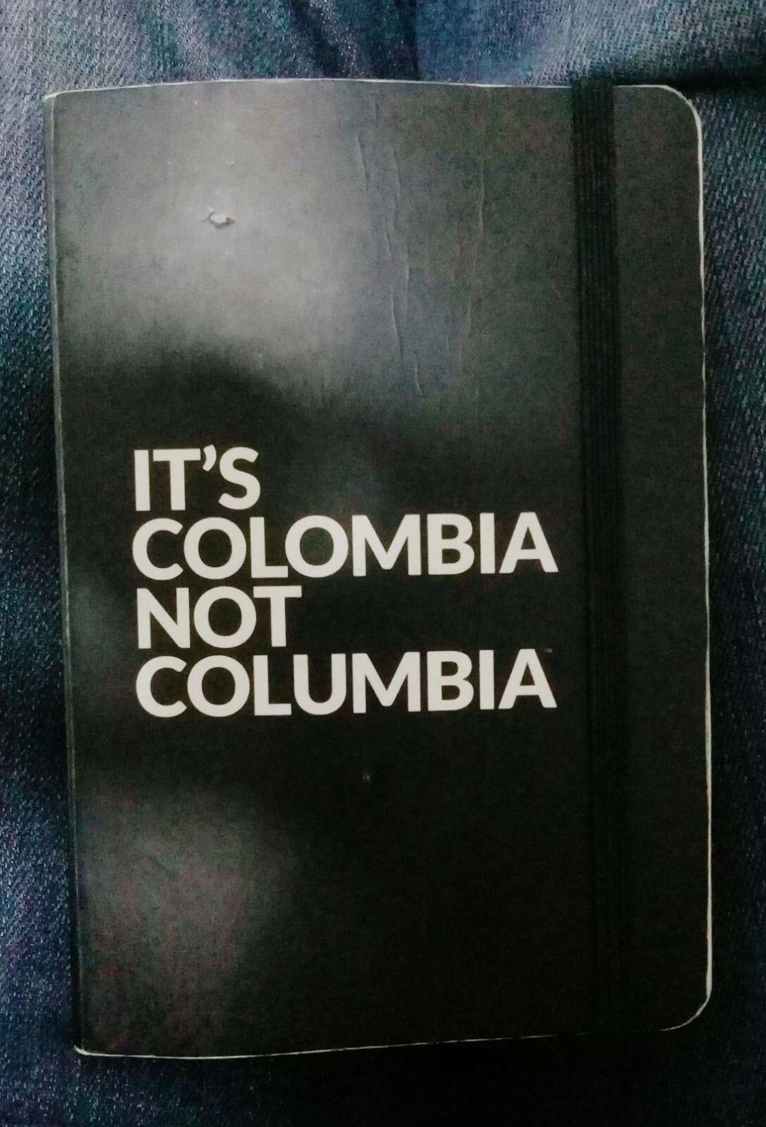 Carnet dépenses colombiennes