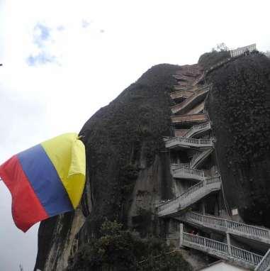 Piedra del Peñol en Guatapé