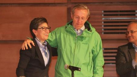 Claudia Lopez y Antonio navarro alianza verde candidatura presidencial