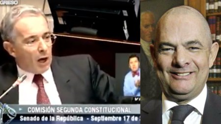 Álvaro Uribe Vélez vargas lleras paramilitarismo