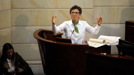 Claudia lopez debate corrupción fiscal