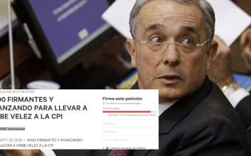 alvaro uribe corte penal internacional
