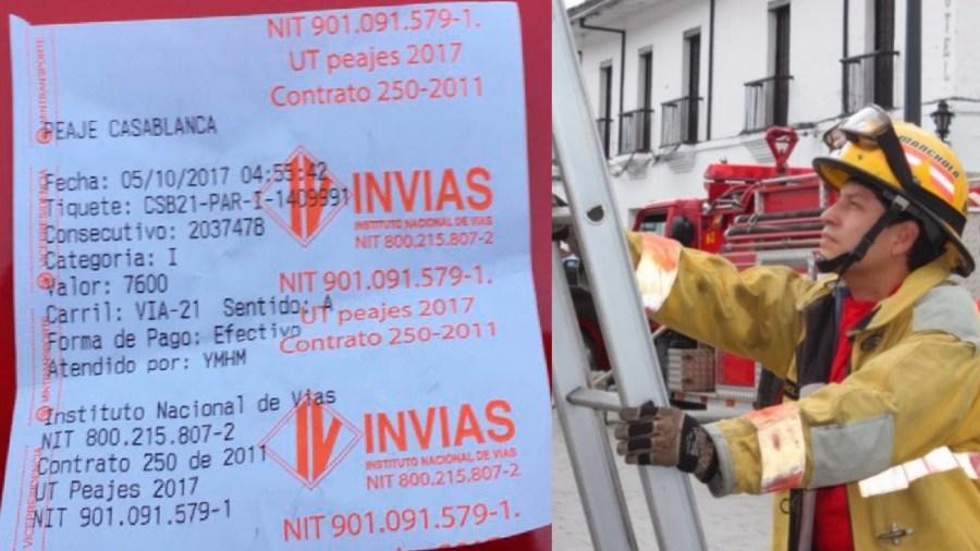 bomberos en cundinamarca