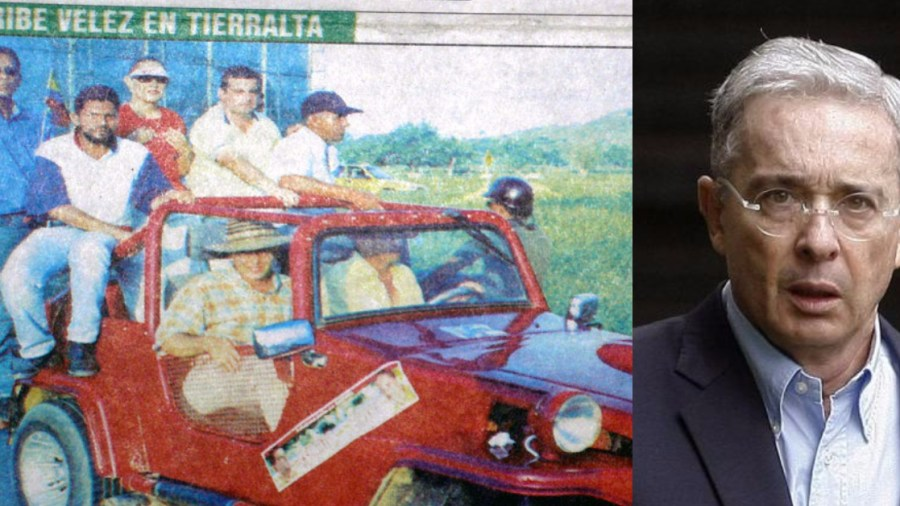 fotos prohibidas de Álvaro Uribe Vélez