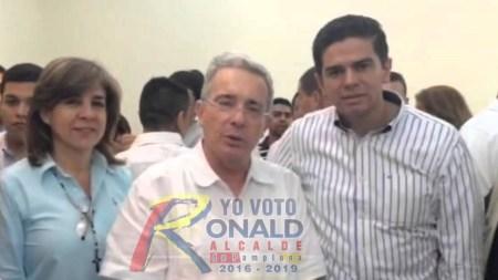 ronald contreras uribe centro democratico pamplona alcalde