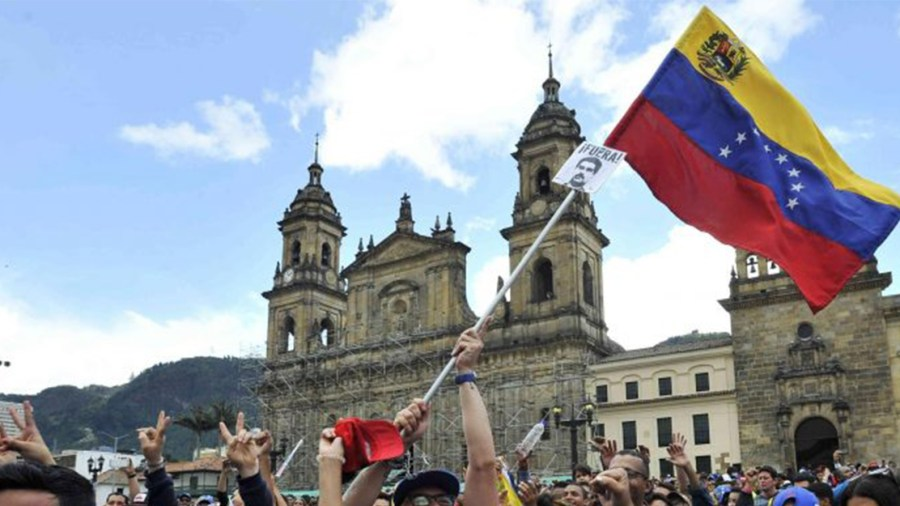 bogotá colegio venezolanos