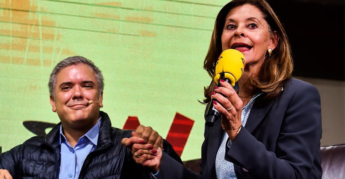 """Hasta Marta Lucía se confunde: le dijo """"presidente Uribe"""", al presidente Duque"""