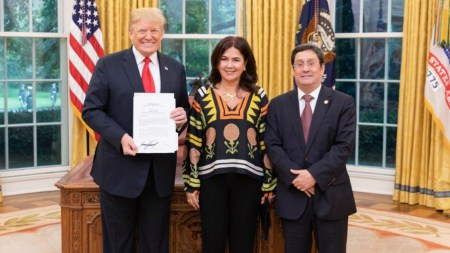 francisco santos pacho embajador estados unidos trump