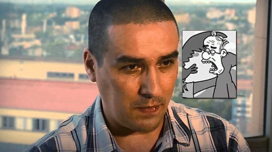 julio cesar matador caricaturas uribe