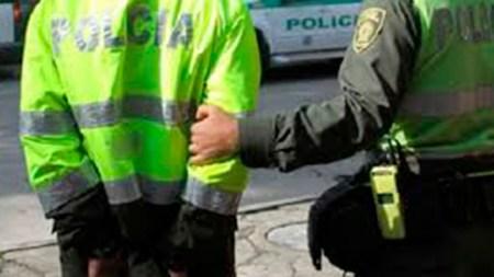 capturado subintendente policia marihuana incautada