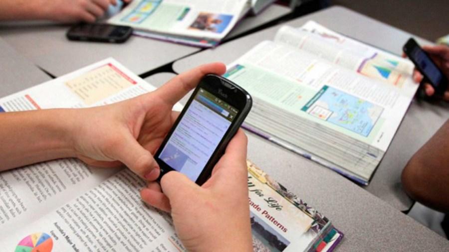 celulares colegios debate proyecto de ley