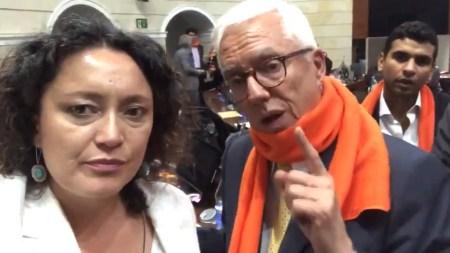 angelica lozano jorge robledo debate siglo fiscal denuncia