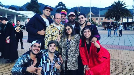 líderes estudiantiles reguetoneros iván duque estudiantes