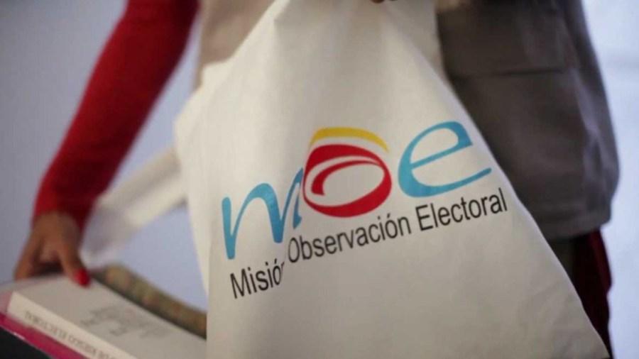 misión de observacion electoral campañas donantes