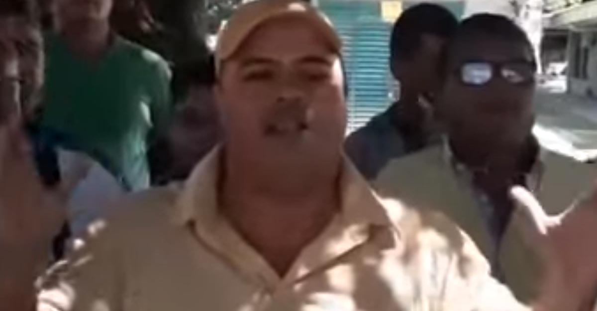 """""""Uribe, ladrón, perro hp"""": duro mensaje de líder camionero invitando al paro"""