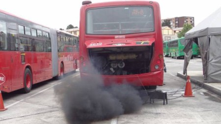 transmilenio buses diésel gobierno bogotá