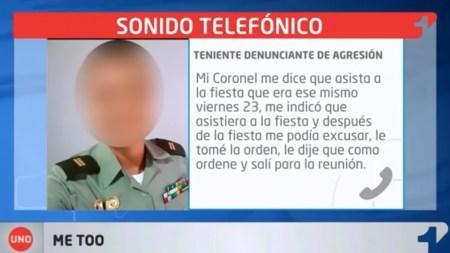 denuncia policia teniente