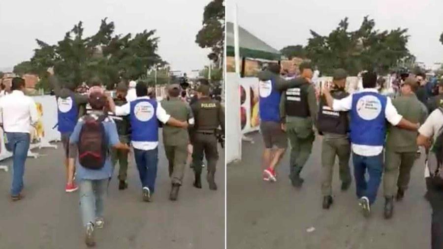 guardia nacional venezuela colombia maduro