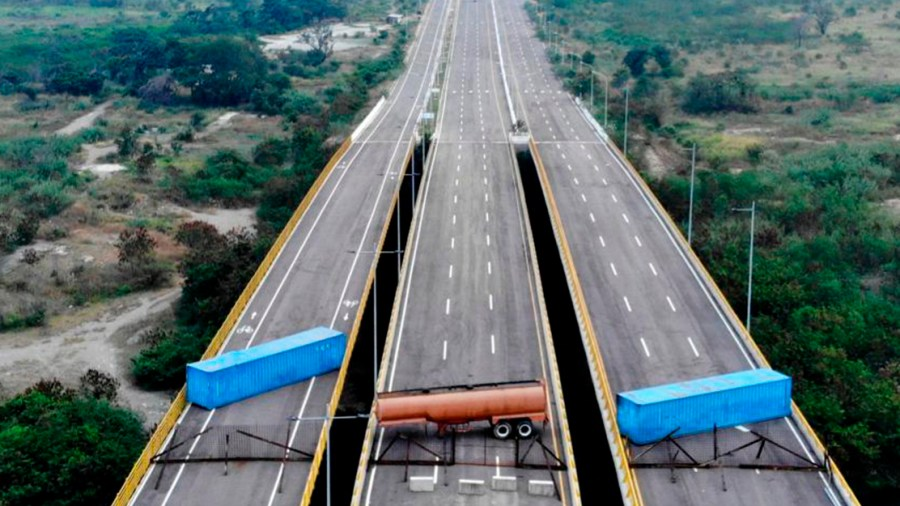 puente tienditas bloqueo maduro venezuela