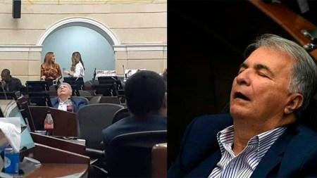 senador liberal duerme