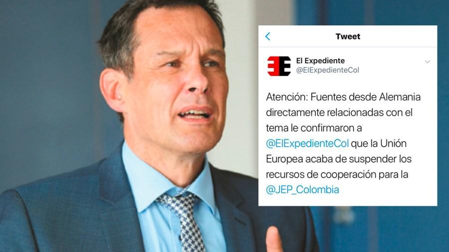 embajador alemania colombia