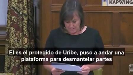 parlamento britanico ivan duque uribe