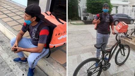 joven rapi bici