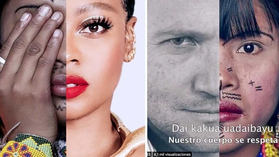 indígenas colombia artistas