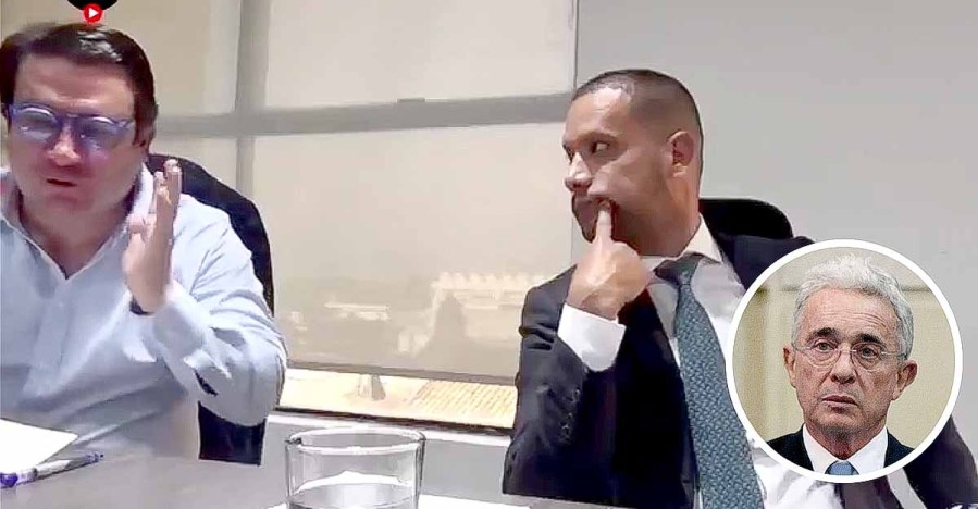 """Escucha la pregunta, hombre"""": abogado regañó a Diego Cadena por embarrarla  cuando declaraba en caso Uribe"""