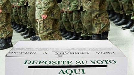 militares voto