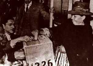 Plebiscito de 1957, confirmó el derecho al voto por parte de las mujeres colombianas.