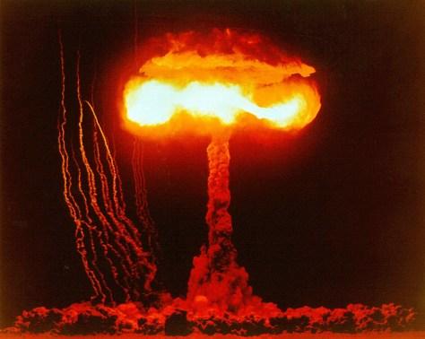Ensayo nuclear estadounidense en Nevada, 1953 ©ICAN