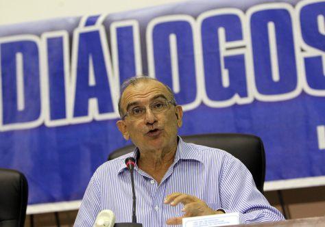 El jefe del equipo negociador del Gobierno colombiano, Humberto de la Calle / EFE