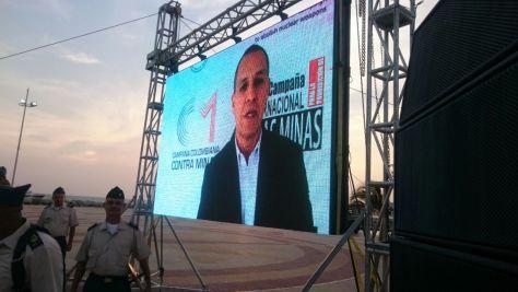 Mensaje del director de la CCCM, Álvaro Jiménez Millán, durante la ceremonia