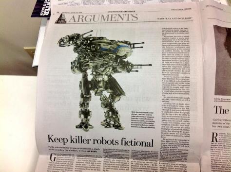 Foto Stop Killer Robots