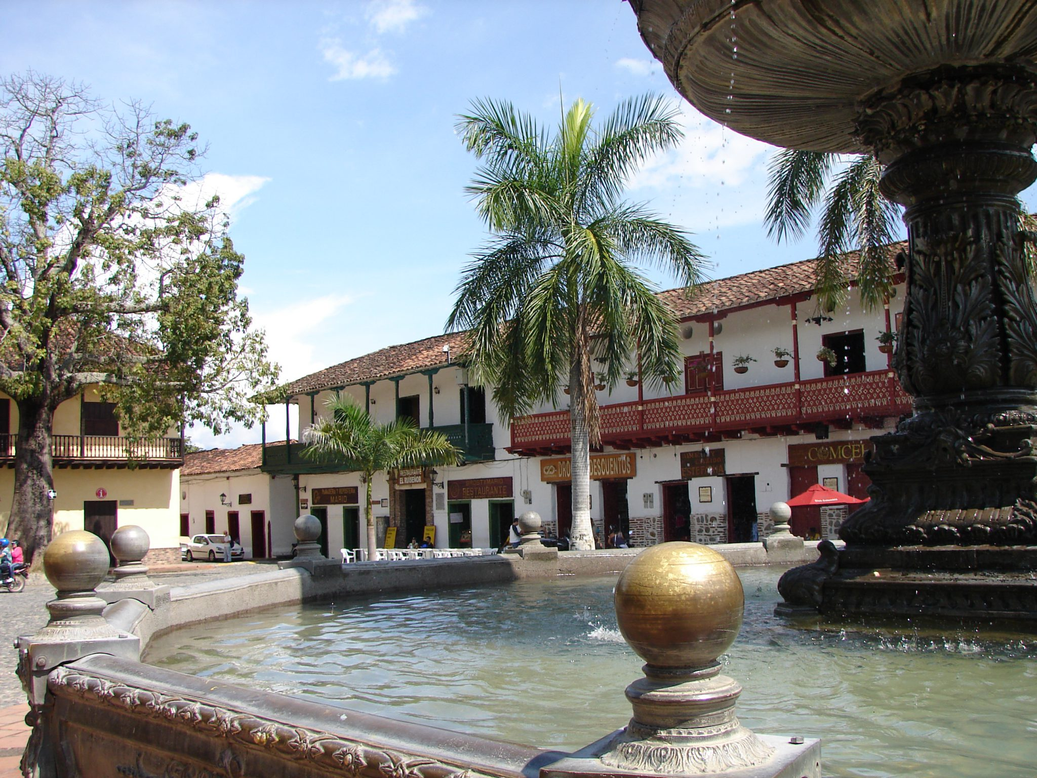 Santa fé de Antioquia, un lugar colonial tradicional