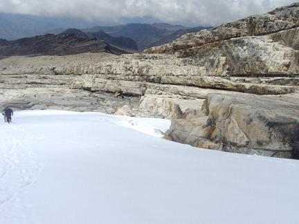 Snow in the Cocuy