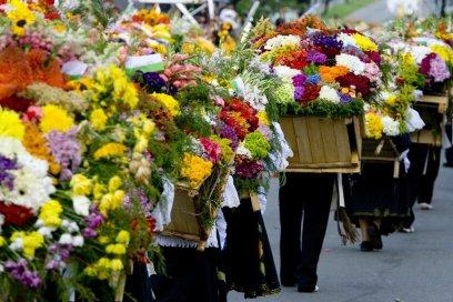 Silleteros Flowers Fair Medellín