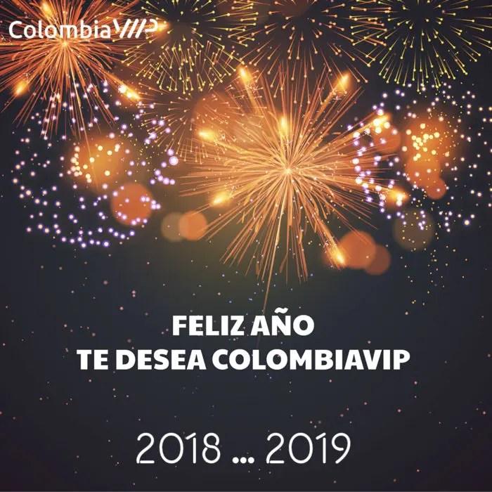 ¡FELIZ AÑO NUEVO TE DESEA COLOMBIAVIP!