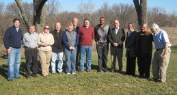 group shot outside of the board of directors